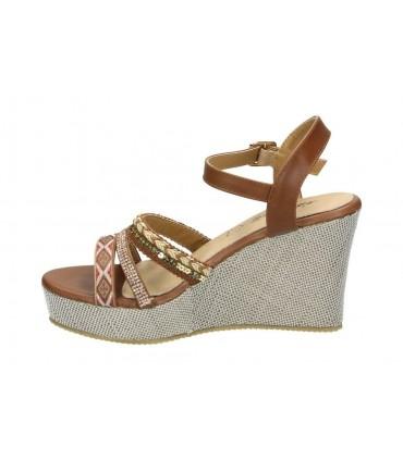 Sandalias casual de señora d´angela dcs15601 color gris