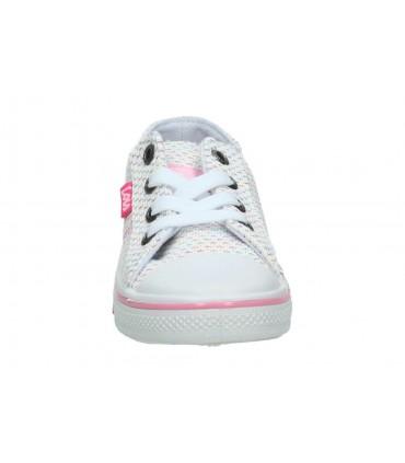 Zapatos para señora planos nature 3565 en beige