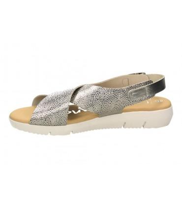 Sandalias para señora cuña lrk 4369 en marron