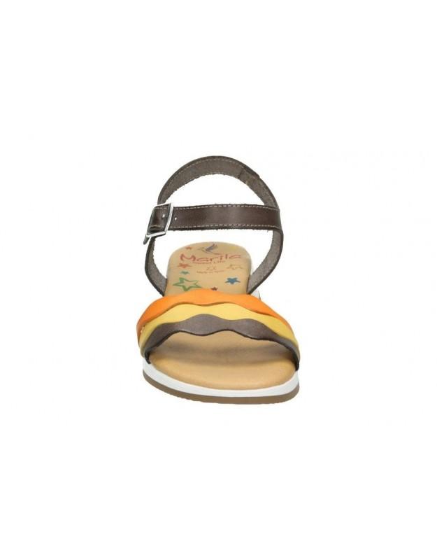 Sandalias color marron de casual lrk 4367