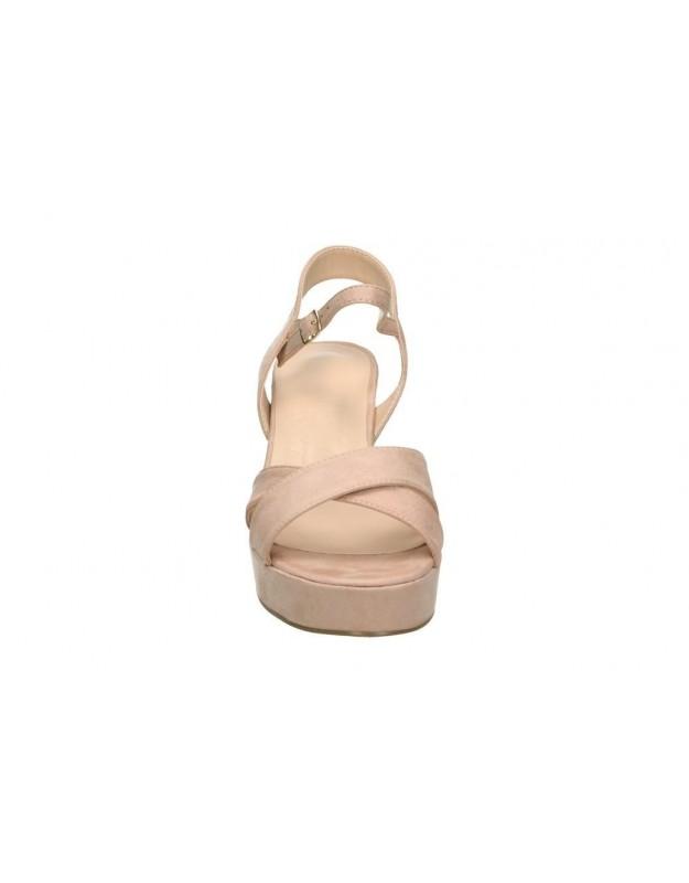 Sandalias para moda joven tacón maria mare 67303 en negro