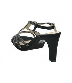 Sandalias para señora cuña lrk 4369 en negro