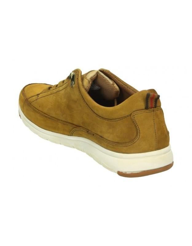 Zapatos color dorado de casual pitillos 5553