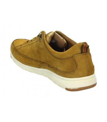 Zapatos pitillos 5553 de tacón color dorado para mujer