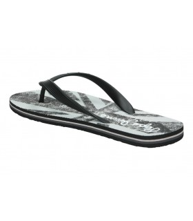 Sandalias para señora cuña porronet 2553 en negro