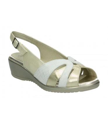 Zapatos para señora tacón pitillos 5601 en azul