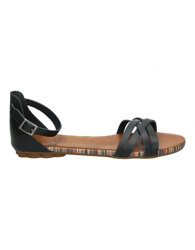 Sandalias color marron de casual refresh 64086