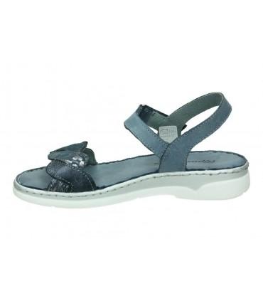 Sandalias color azul de casual palmipao-aclys be fly flow b119-05-03