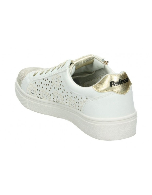Zapatos para señora tacón pitillos 5541 en dorado