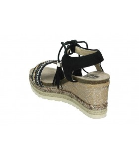 Zapatos para señora daniela vega 1068 negro