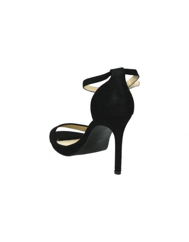 Sandalias para señora tacón own w1901603 en negro