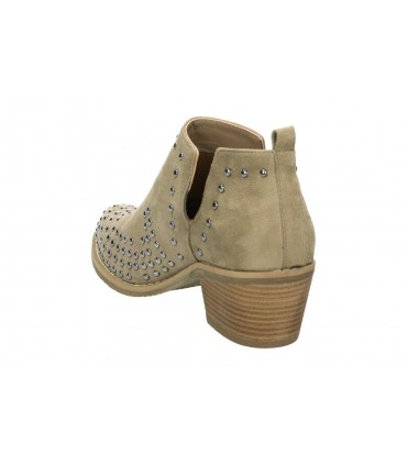 Zapatos para señora cuña treinta´s 2506 en dorado