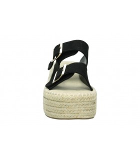 Zapatos casual de moda joven xti 35046 color negro