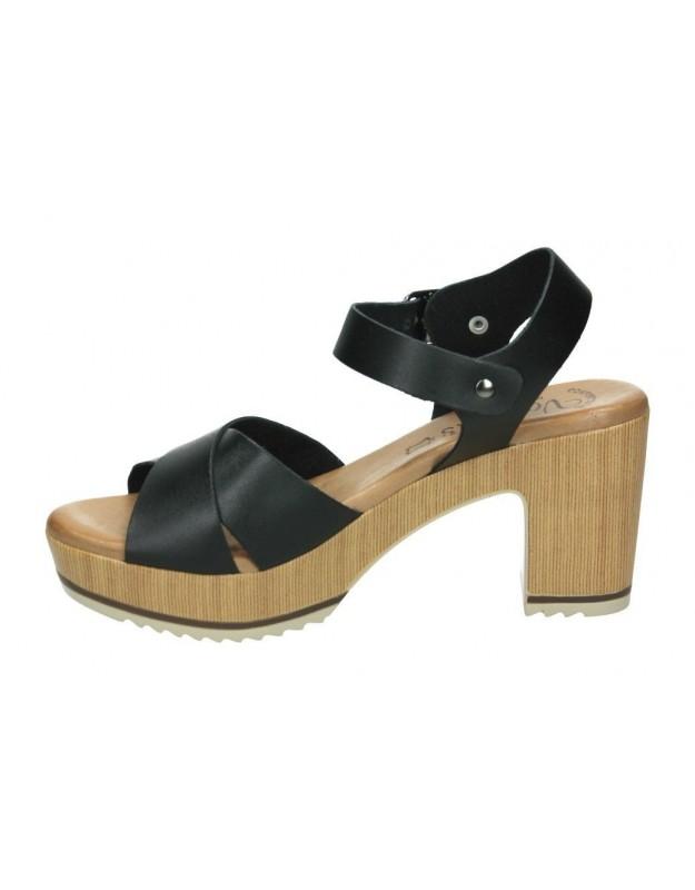 Sandalias casual de señora xbonita 46121 color marron