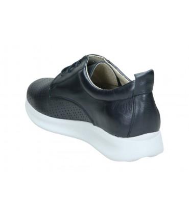 Zapatos para moda joven planos carmela 66792 en blanco