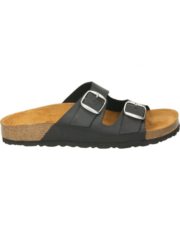 Sandalias stay 17-229 negro para moda joven