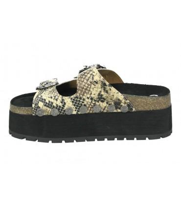Sandalias para moda joven tambi urban marron