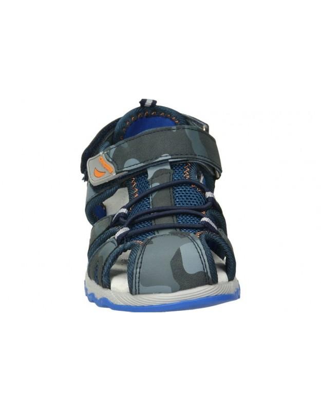 Sandalias color taupe de casual carmela 66679