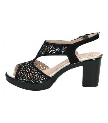 Sandalias para señora pitillos 2900 negro