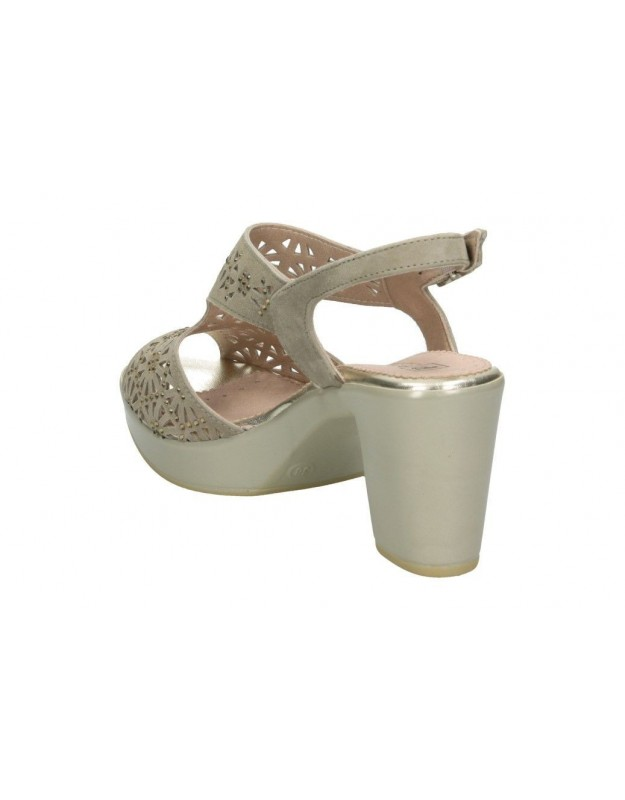 Zapatos casual de moda joven palmipao-aclys be fly flow a119-01-03 color beige