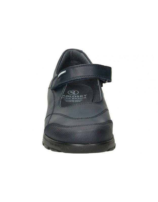 Botas casual de niño  55829 color negro