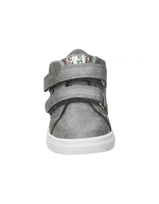 Botas para niña planos  45962 en gris
