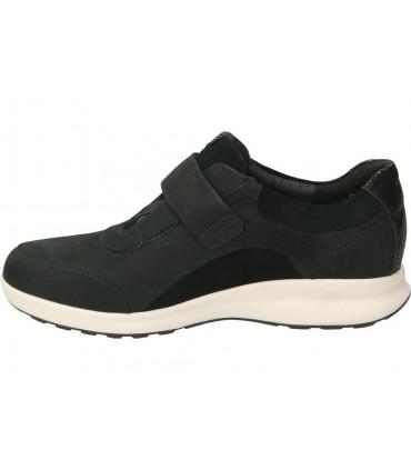 Botas color negro de casual  9020-11
