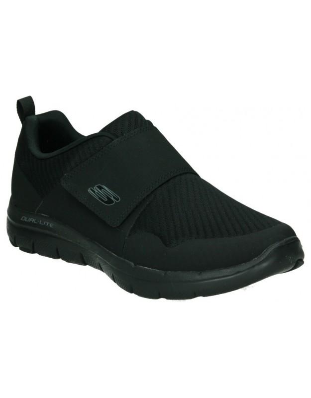 Botas para moda joven planos  8814 en negro