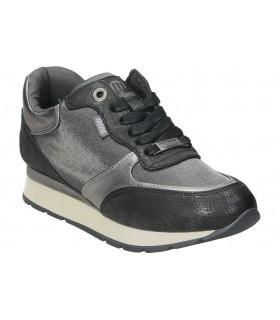 Sandalias color negro de casual mtng 58692