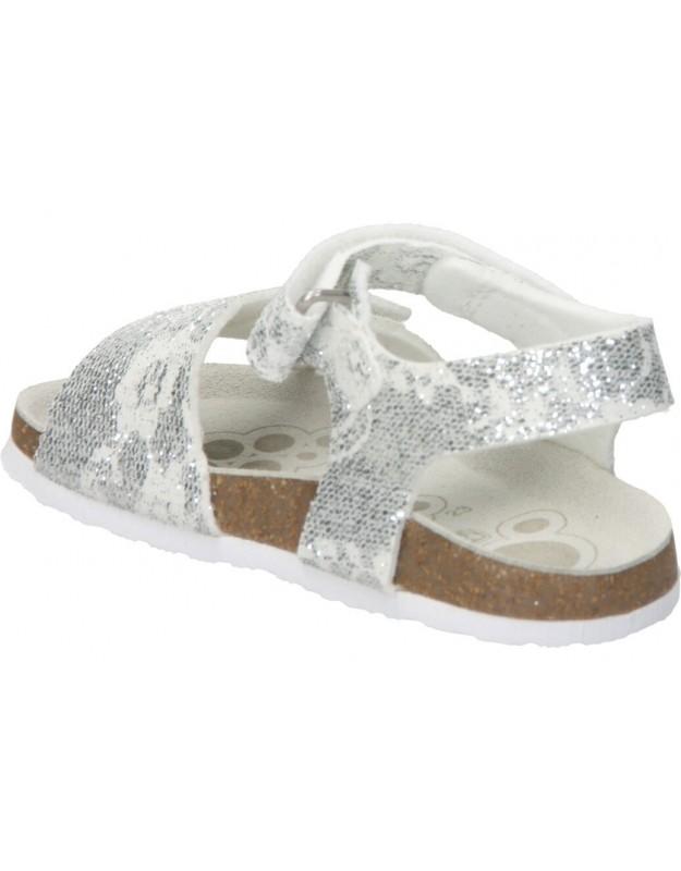 Xti plata 55719 sandalias para niña