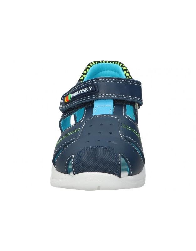 Zapatos para caballero planos kangaroos 7515-74 en negro