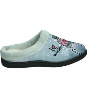 Zapatos para señora planos pitillos 5832 en negro
