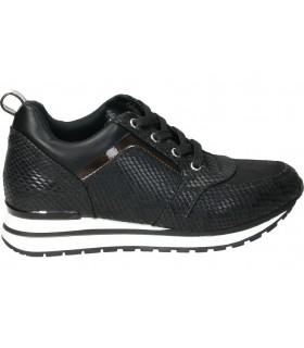 En Para F0698 Cuña Fluchos Negro Señora Zapatos kiZlwPOuTX