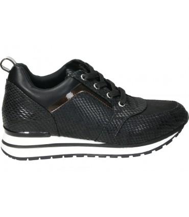 Zapatos para señora cuña fluchos f0698 en negro