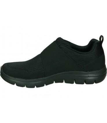 Zapatos para señora planos skechers 97859l-bbb en negro
