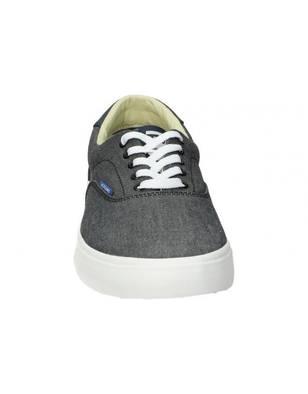 Botas casual de niño kickers 735140-10 color azul