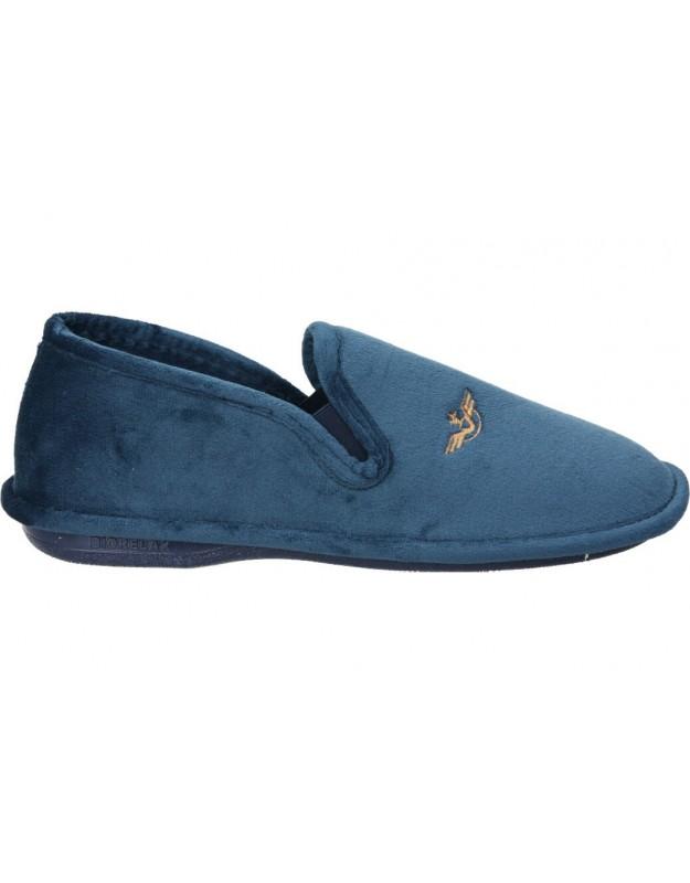 Zapatos casual de caballero skechers 65693-rdbr color marron