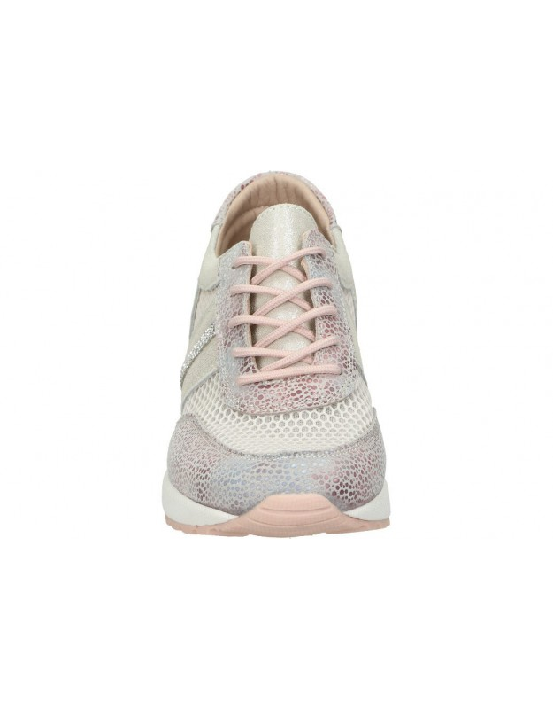 Zapatos para niño planos kickers 584348-10 en azul