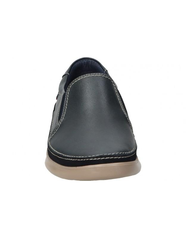 Botines color negro de casual chk10 almudena 01