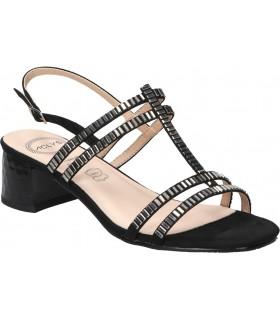 Botas color negro de casual skechers 65691-blk