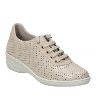 Zapatos skechers 66261-brn marron para caballero