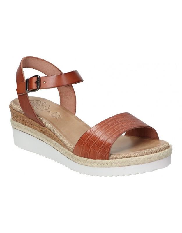 Zapatos para señora planos amarpies ajh16055-me en negro