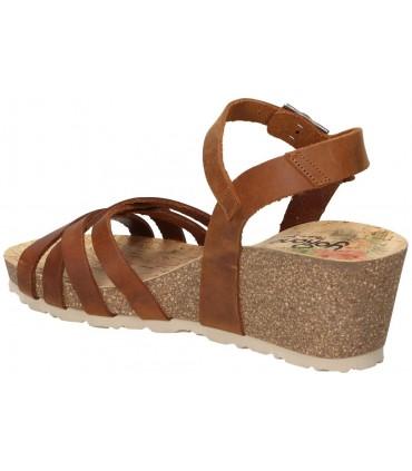 Zapatos para señora daniela vega 1676 marron