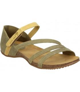 Zapatos para señora planos valerias 5544 en negro