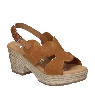 Zapatos para caballero planos nature 4312 en marron Waterproof