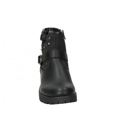 Deportivas para señora planos nike bq5671-002 en negro