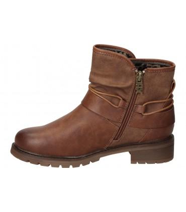 Zapatos color negro de casual fluchos f0703