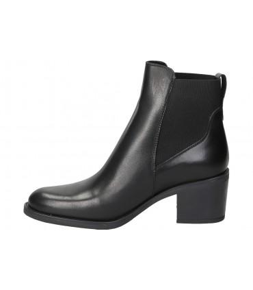 Botines para señora tacón desireé 92056 en negro