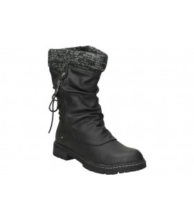 Zapatos color negro de casual dunlop 35449.