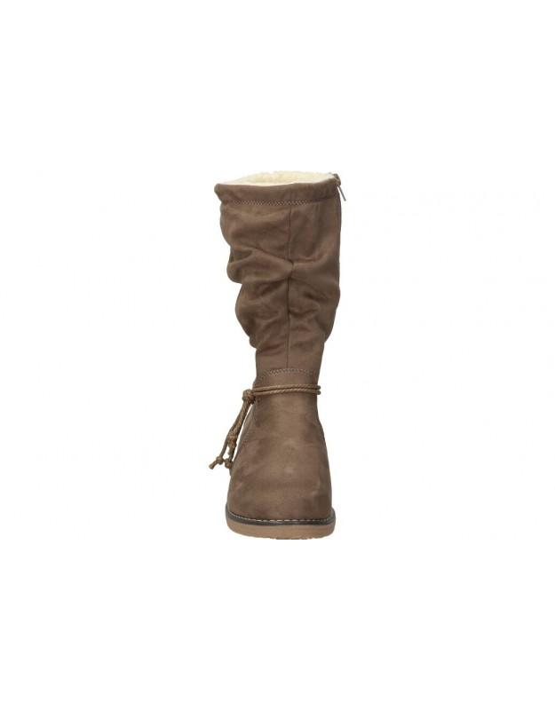 Zapatos color gris de casual xti 49625